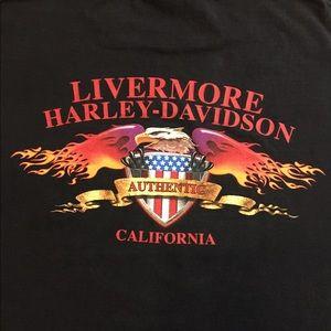 👀 VTG 2000 Harley-Davidson T-shirt Sz XL